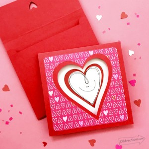 Smiley Heart Card from 100 Directions