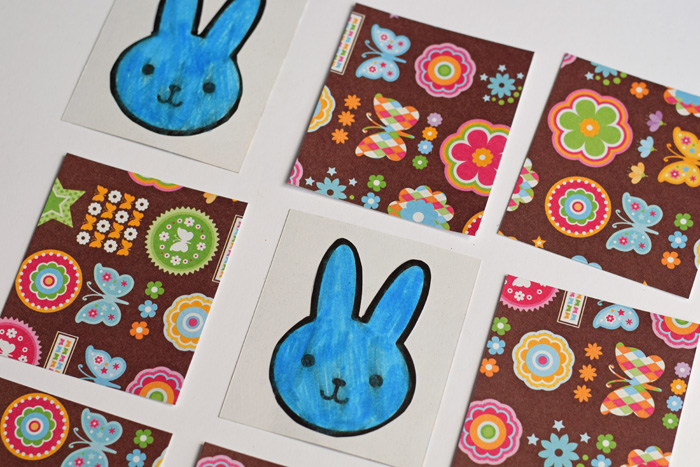 DIY Kid's Easter Matching Game