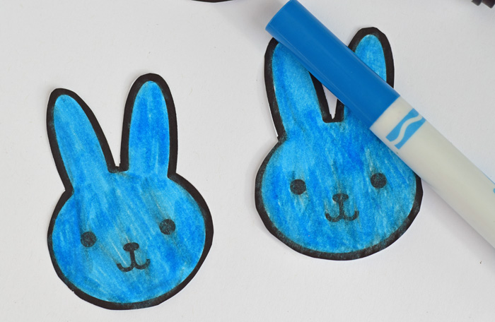 DIY Kid's Easter Matching Game