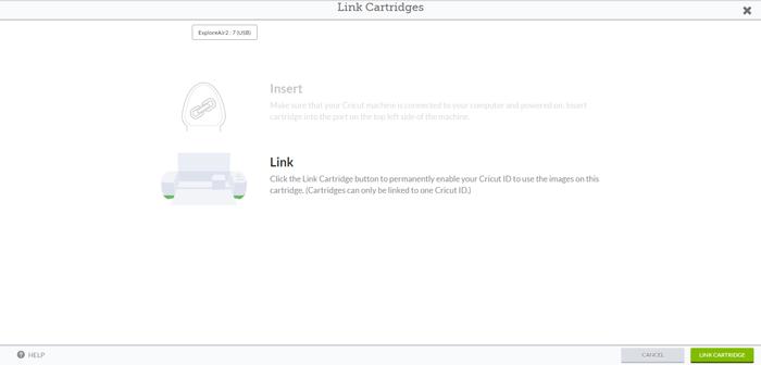 How to Link Cricut Cartridges to Cricut Design Space