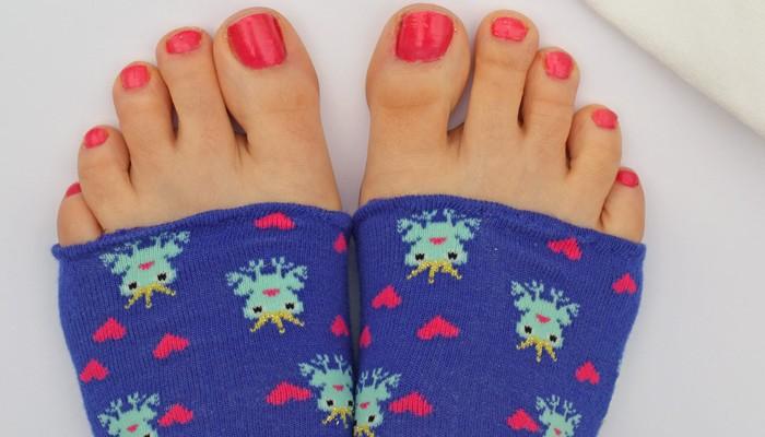 DIY Pedicure Socks