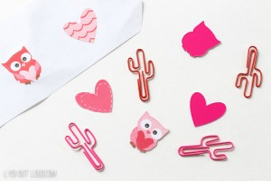 Valentines Planner Clips from Lydi Out Loud