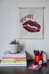 DIY Valentines Banner from Lemon Thistle