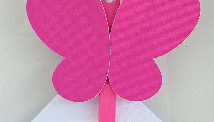 DIY Butterfly Magnet Clip