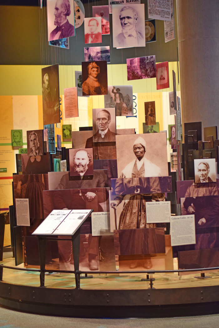 Visiting the National Underground Railroad Freedom Center AD
