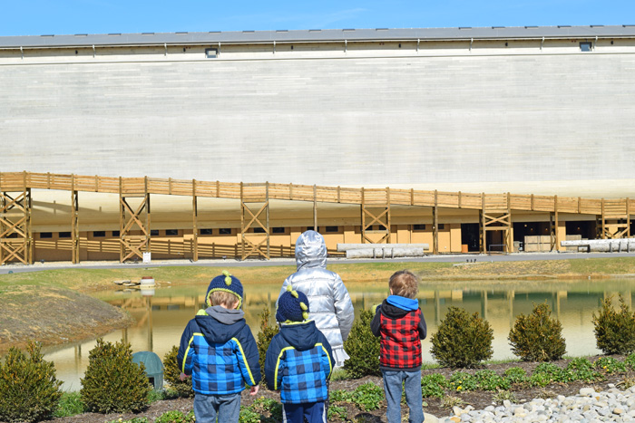 Visiting the Ark Encounter with Kids AD