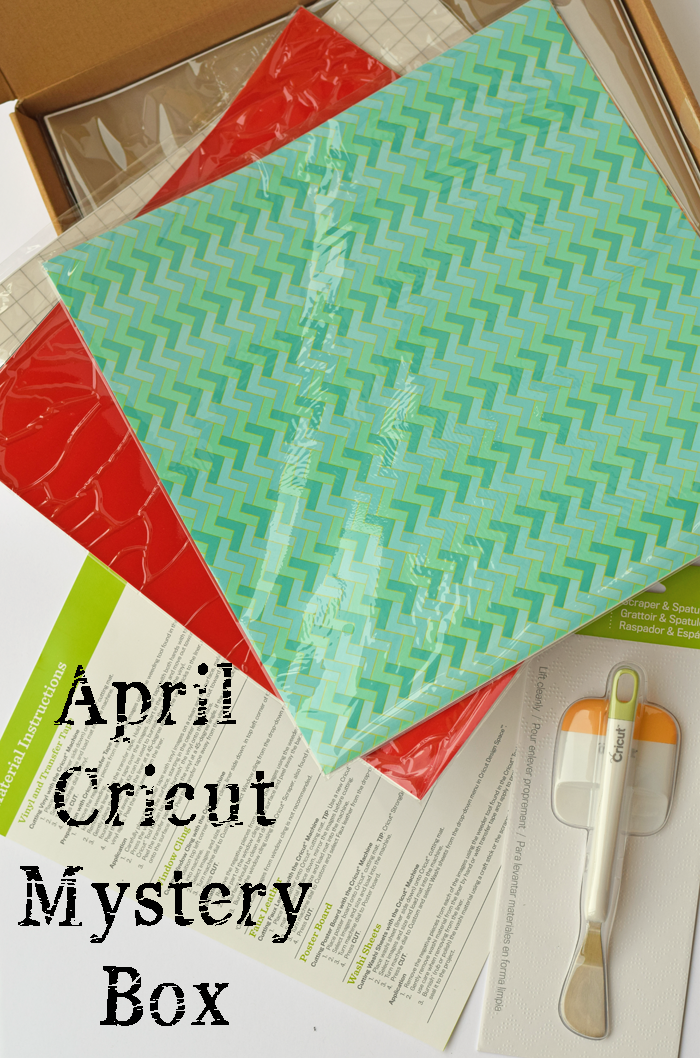 April Cricut Mystery Box AD