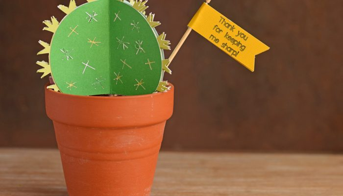 Cactus Teacher Appreciation Craft