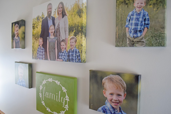 Creating a Home Gallery Wall AD