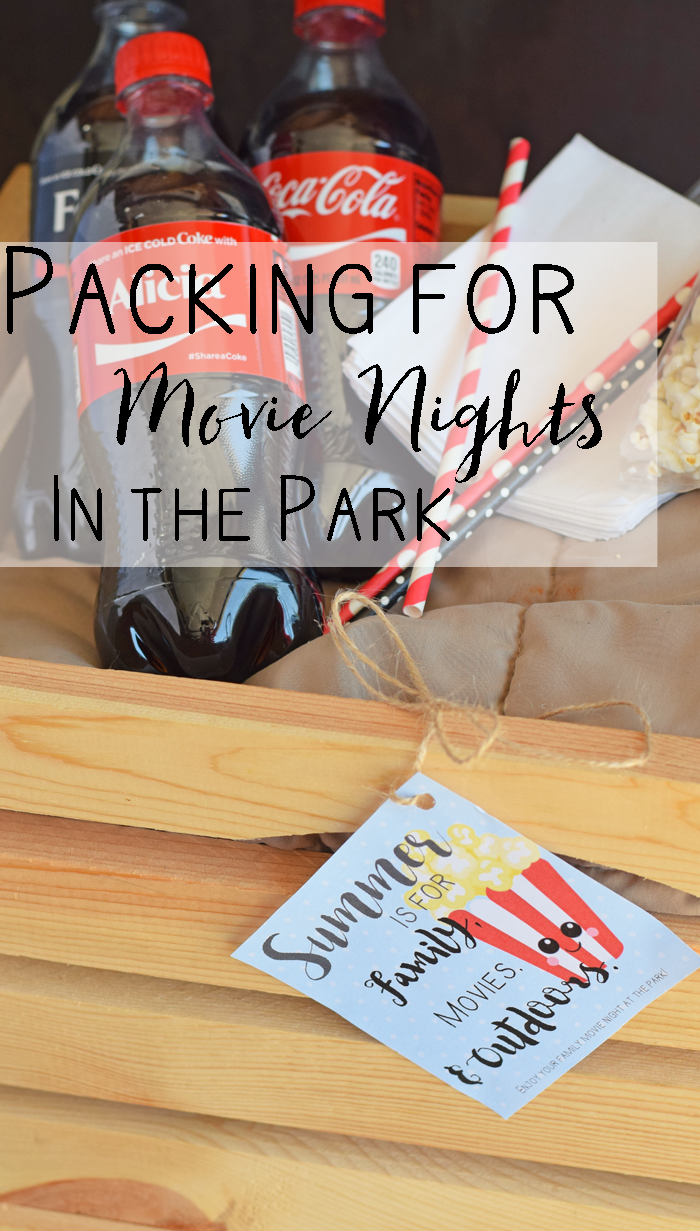 Creating a Movie Night in the Park Gift Basket AD
