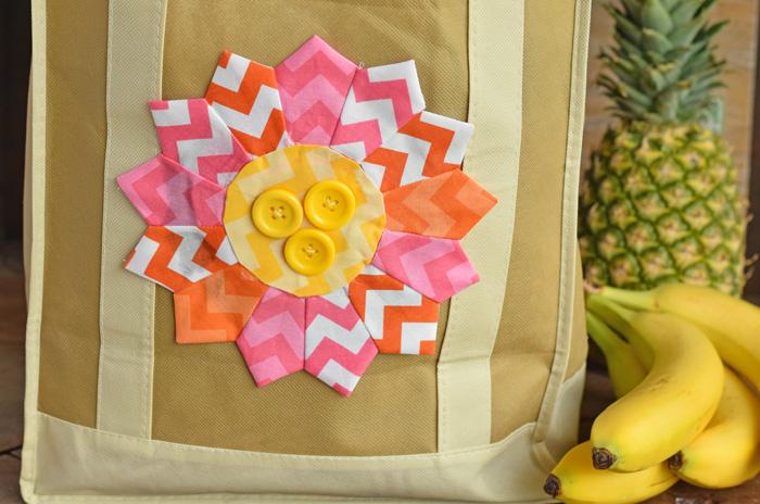 Flower Dresden Embellished Tote Bag AD