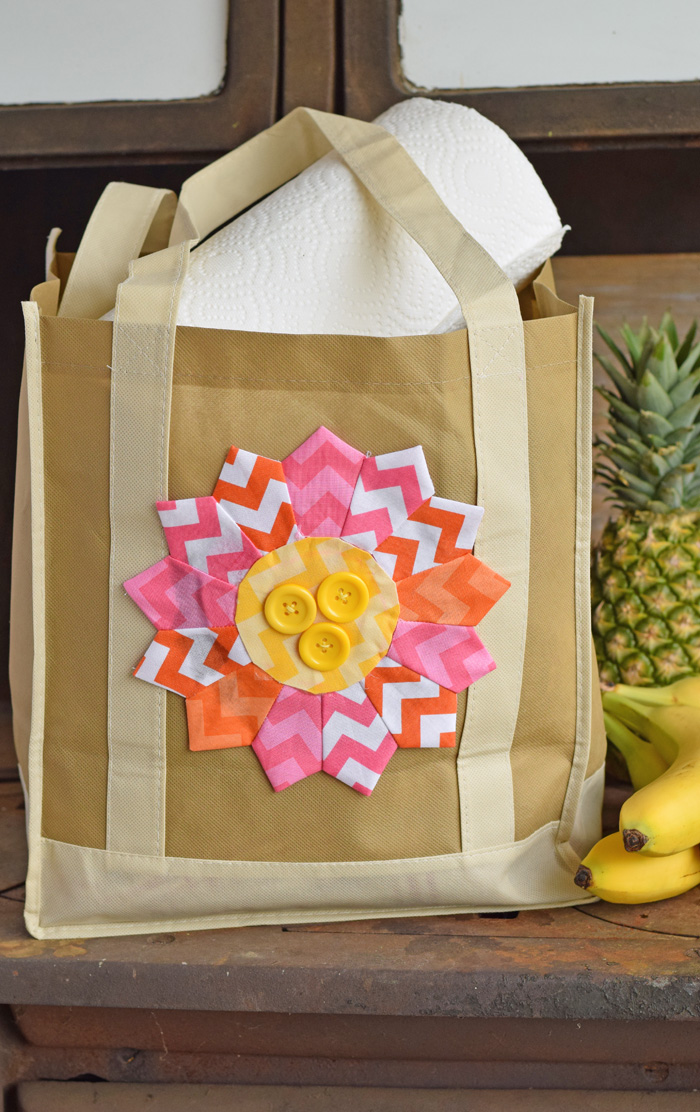 Flower Dresden Embellished Tote Bag AD