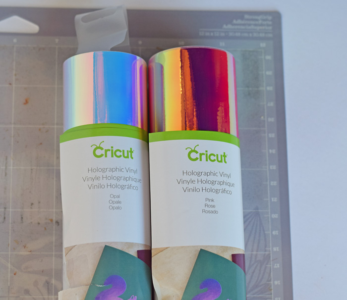 Tips for Working with Cricut Holographic Vinyl AD