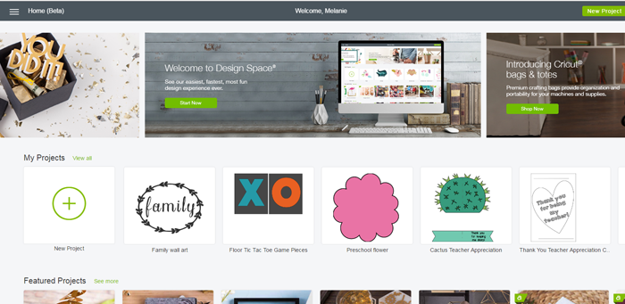A Tour of the New Cricut Design Space (and F.A.Q.) AD