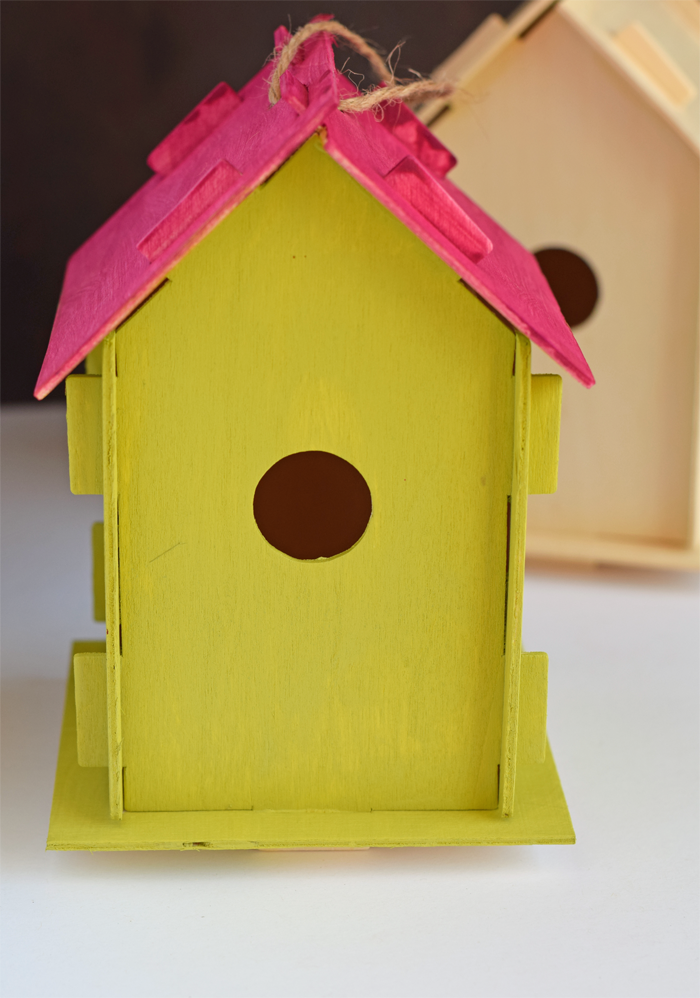 marvelous birdhouse project #4: Painted Birdhouse Project for VBS AD