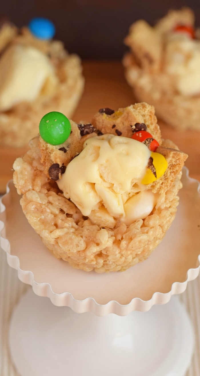 Rice Krispies Ice Cream Cups  AD