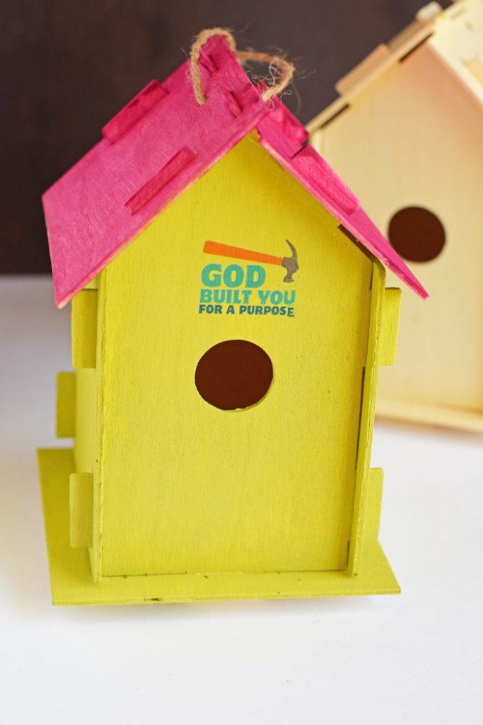 Painted Birdhouse Project for VBS AD