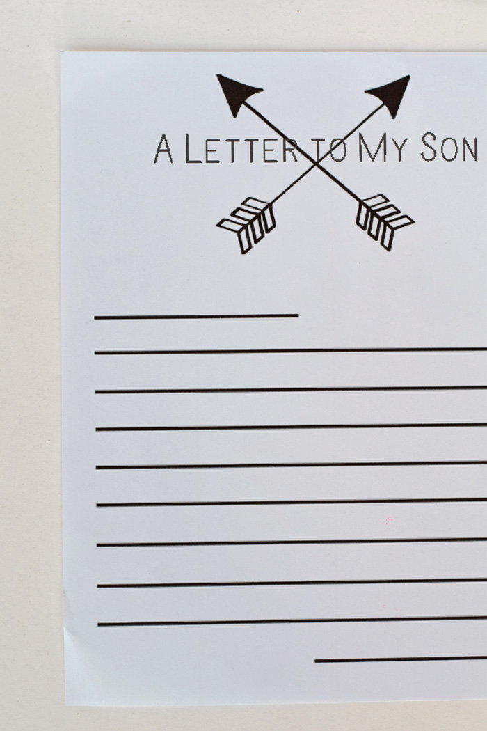 A Letter to my Children Free Printable AD