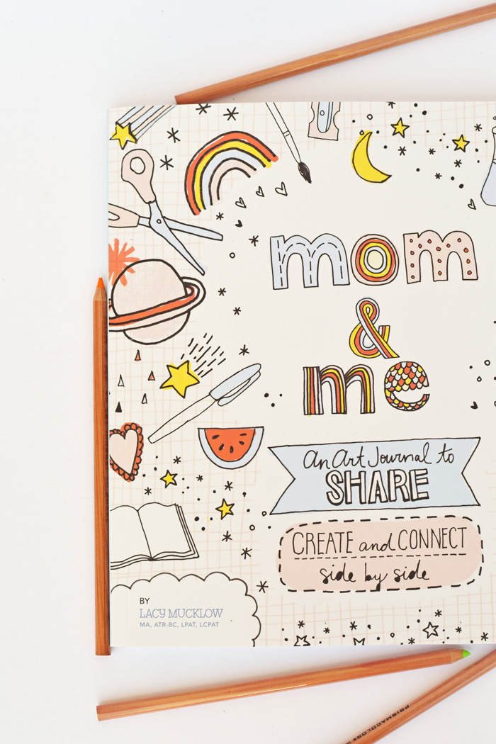 Mom & Me: An Art Journal to Share + Letter to My Children Free Printable AD