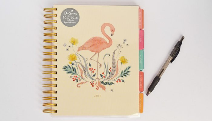 The NEW DaySpring Agenda Planners and GIVEAWAY