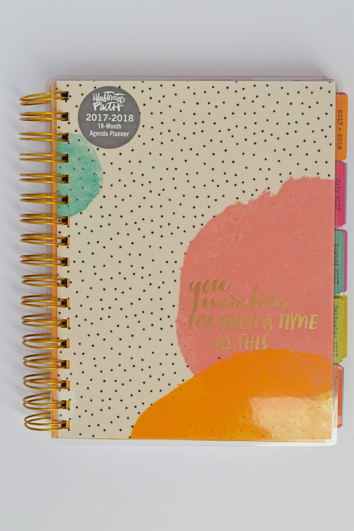 The NEW DaySpring Agenda Planners AD