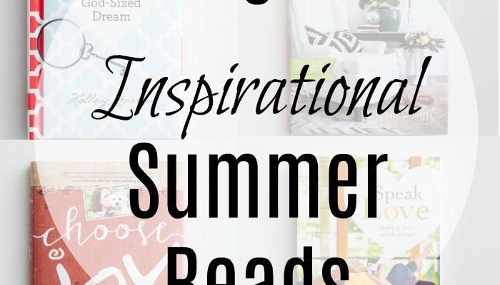 Inspirational Summer Reading List