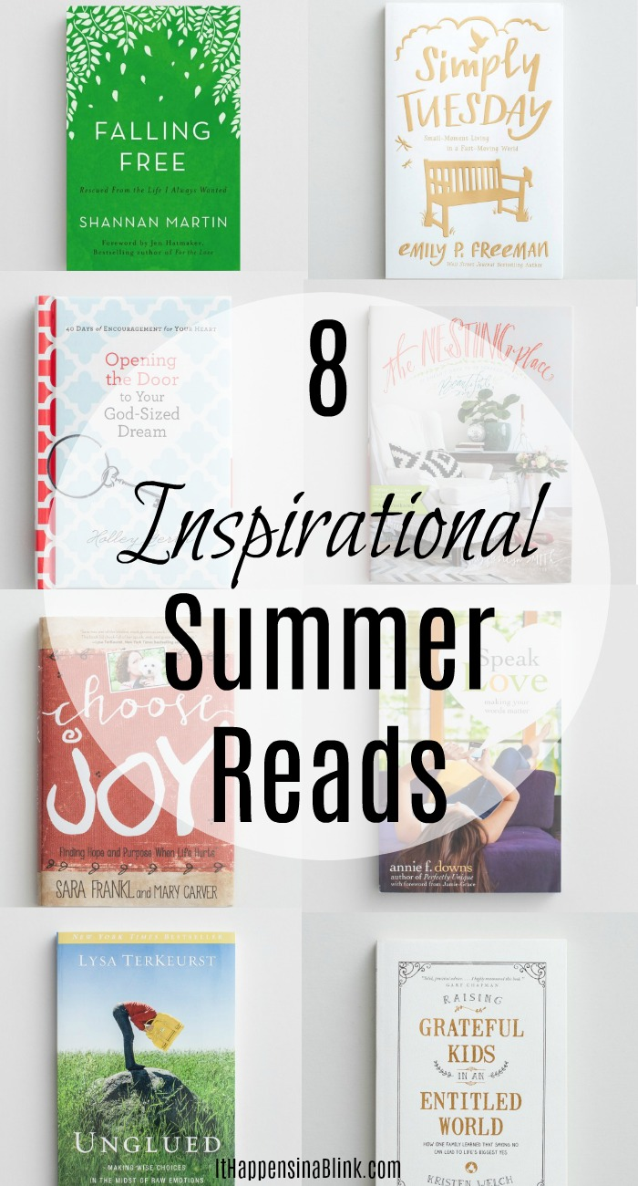 Inspirational Summer Reading List AD