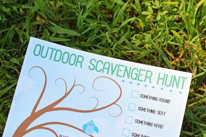 Free Printable Outdoor Scavenger Hunt Includes Regular