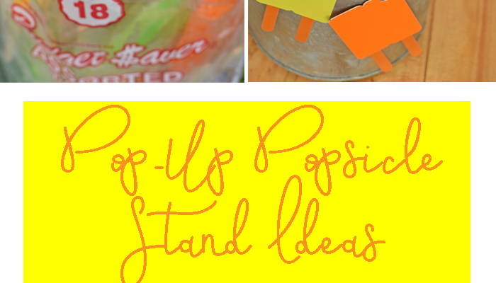 Pop-Up Popsicle Stand Ideas for Summer MOMents