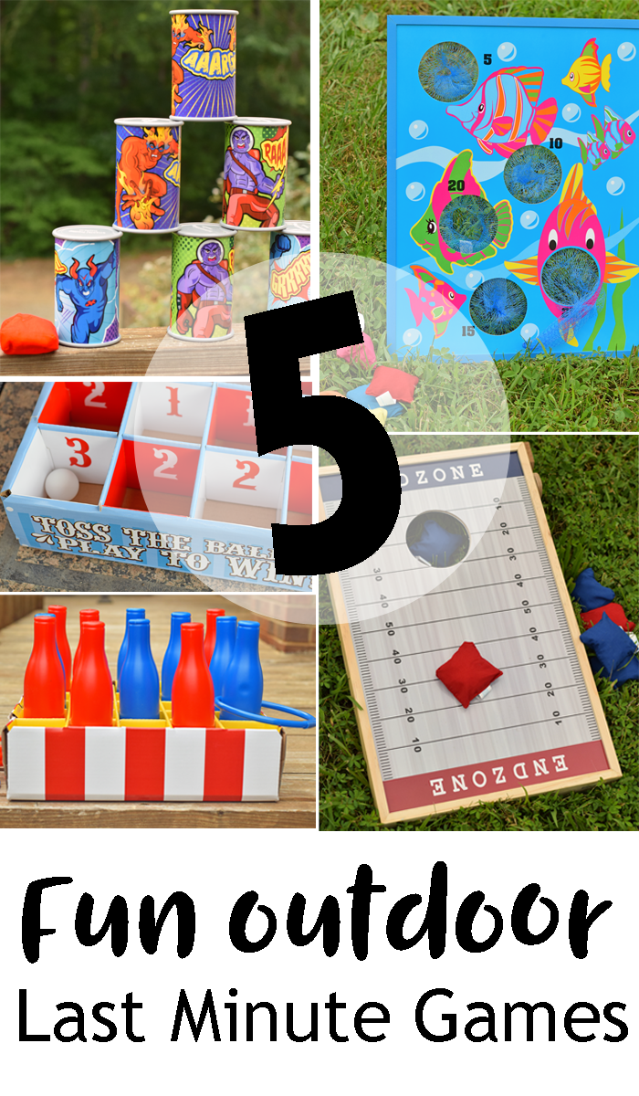 5 Fun Outdoor Last Minute Games AD