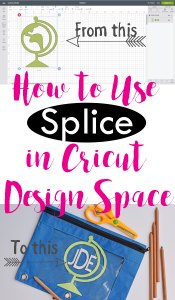 How to Splice in Cricut Design Space AD