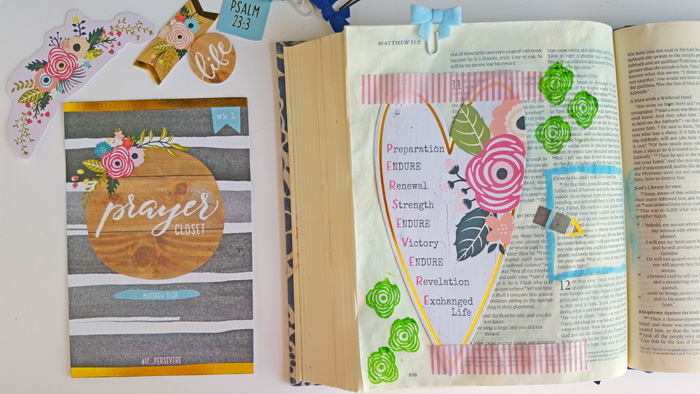 Persevere with the August Illustrated Faith Kit