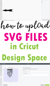How to Upload SVG Files or Images in Cricut Design Space