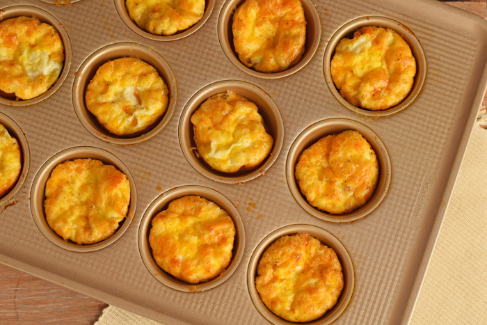 Ham and Cheese Egg Muffins AD