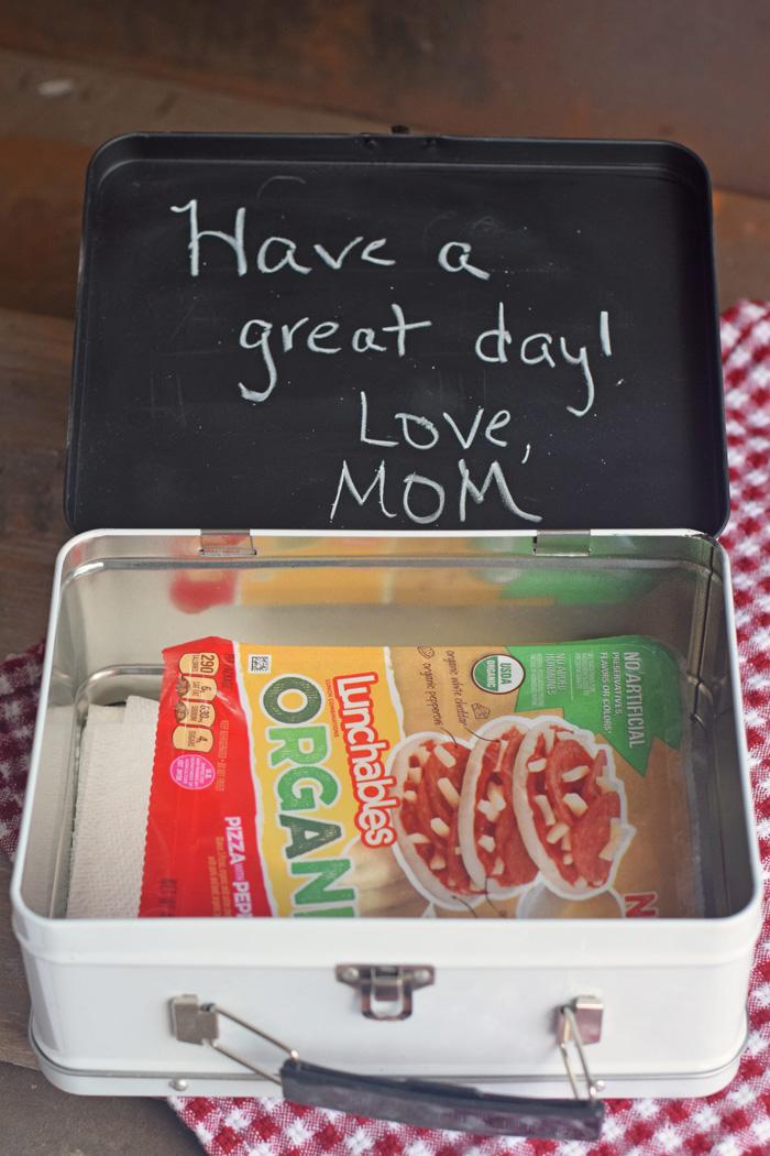 Lunchbox Chalkboard Insert AD