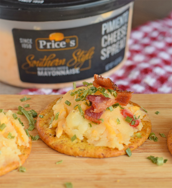 Loaded Potato Crackers for an After School Snack AD