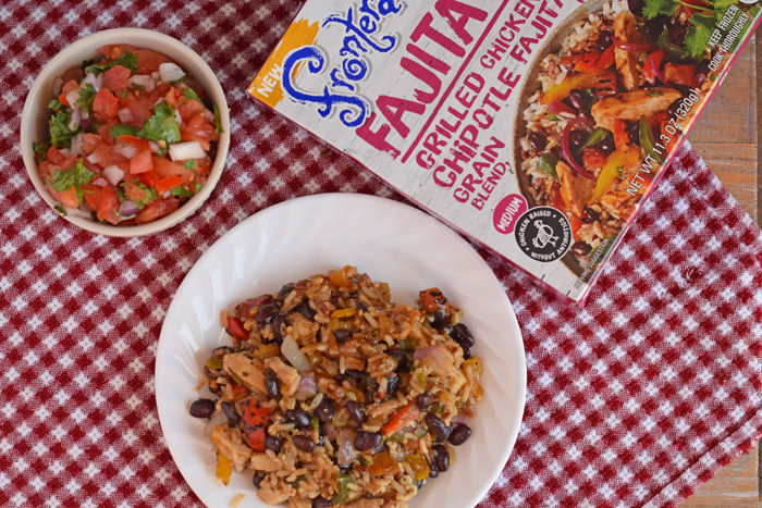 Five Minute Pico de Gallo recipe AD