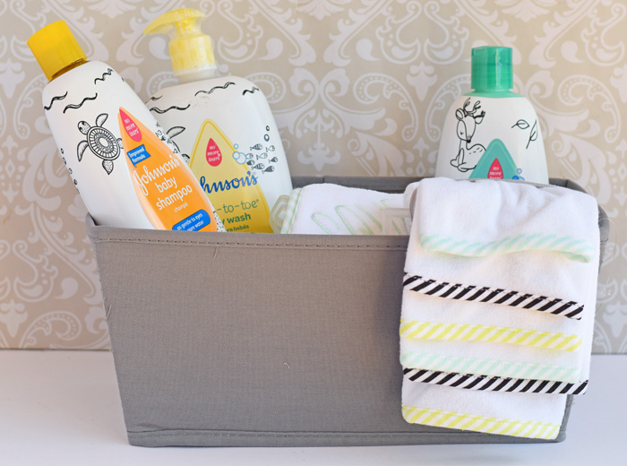 Bath Time Baby Gift Basket  AD