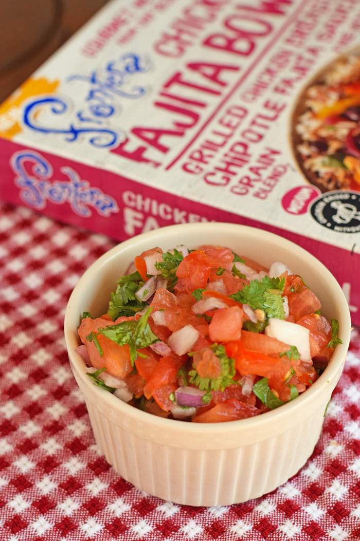 Five Minute Pico de Gallo recipe AD