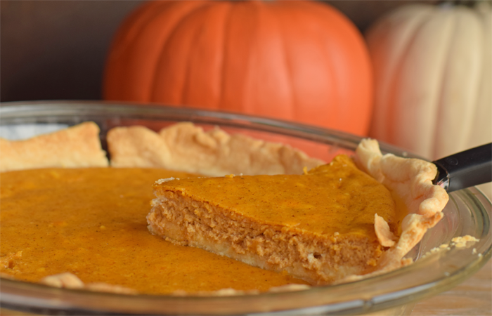 Pumpkin Cheesecake Pie  AD