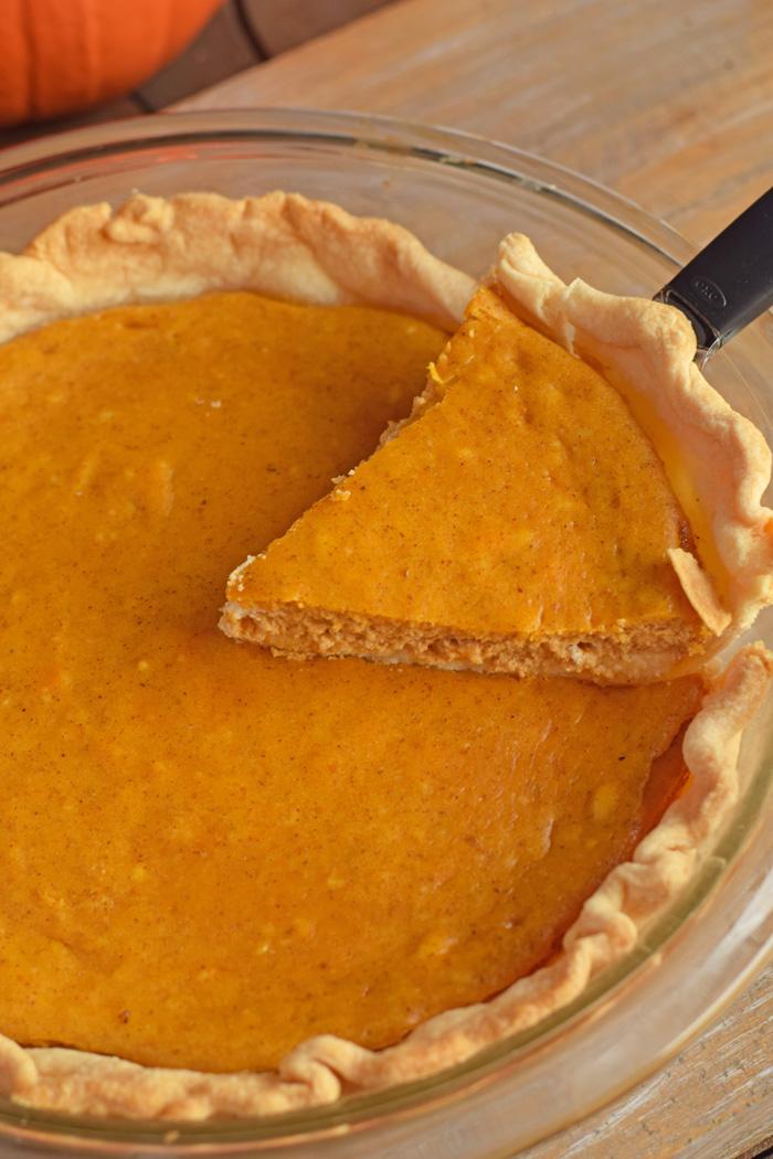 Pumpkin Cheesecake Pie AD