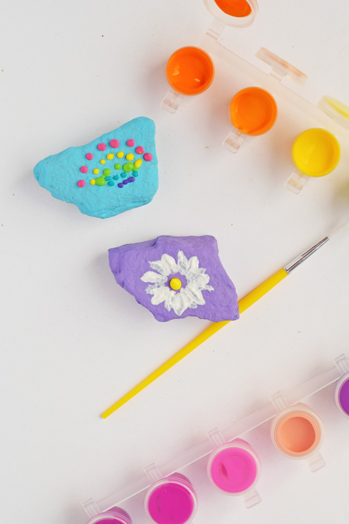 Rock Painting with Kids AD