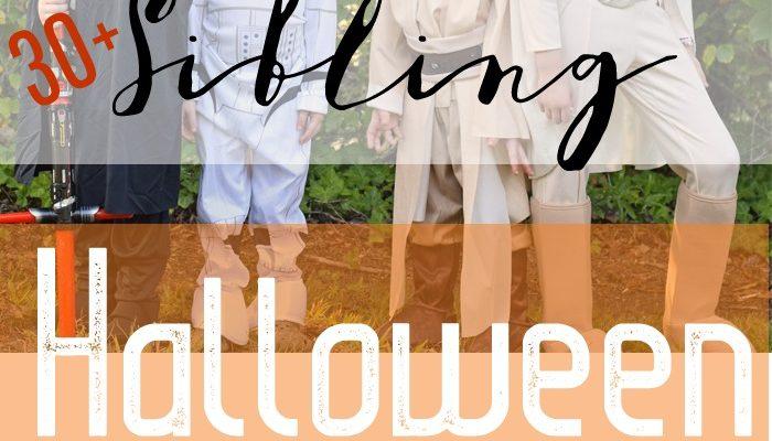 30+ Sibling Halloween Costume Ideas