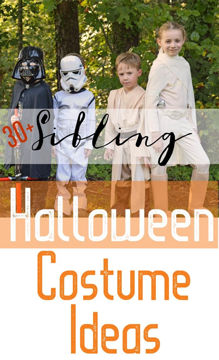 30+ Sibling Halloween Costume Ideas AD