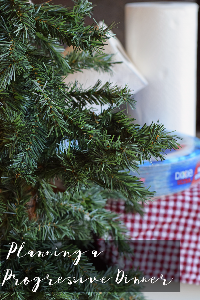 Planning a Holiday Progressive Dinner AD