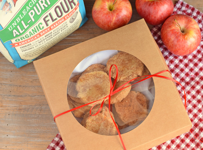 Soft and Chewy Apple Pie Cookies AD