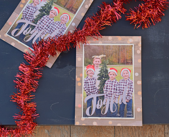 Christmas Card Sneak Peek with Shutterfly AD