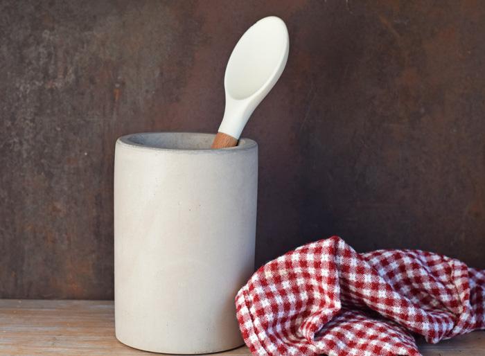Culinarium Concrete Utensil Holder / Wine Chiller AD