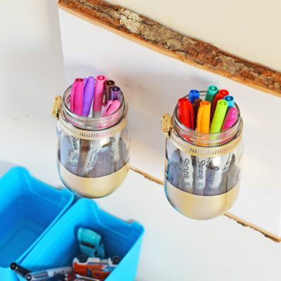 Mason Jar Holder Gifting Idea AD