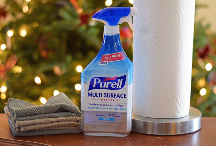 Cleaning for Holiday Parties AD